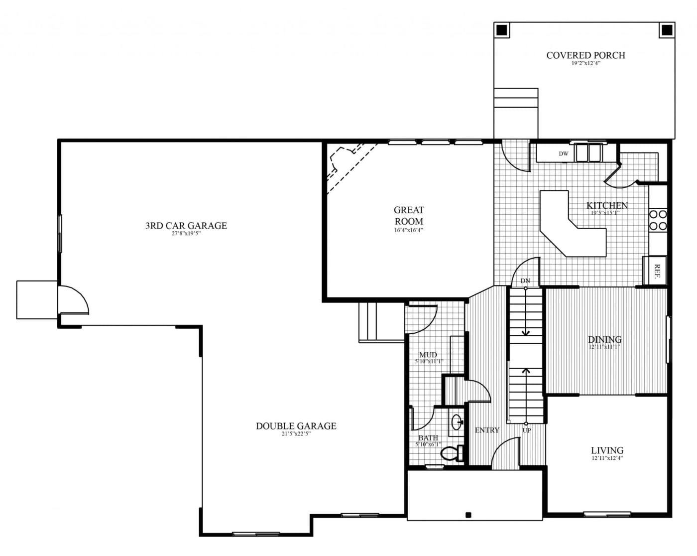 Carter Homes Floor Plan